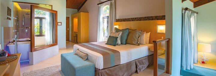 Standard-Zimmerbeispiel des Hotel Coco de Mer & Black Parrot Suites