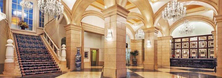 Lobby des Beijing Hotel NUO