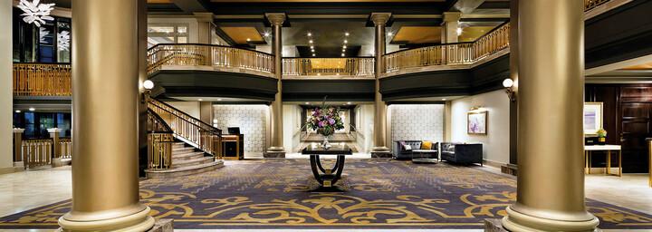 Lobby des Fairmont Empress