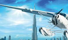Panoramaflug über Dubai