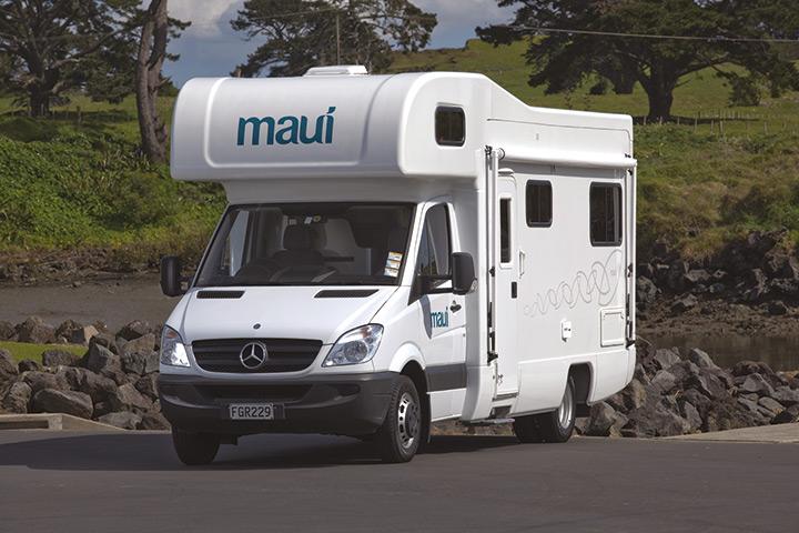 Außenansicht des Maui River