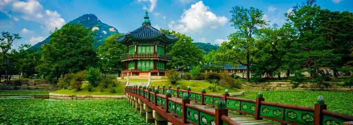 Gyeongbokgung Palast - Hyangwonjeon Pavillon