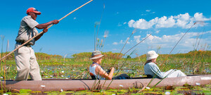 Mokoro-Fahrt im Okavango Delta