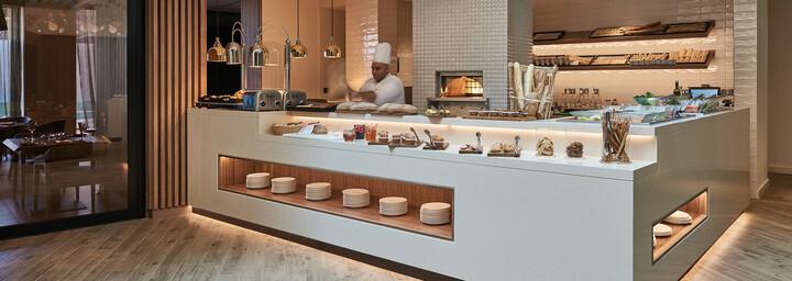 Restaurant des Mysk Al Mouj by Shaza Hotel in Muscat