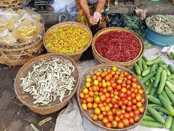Lombok Reisebericht - Markt auf Lombok