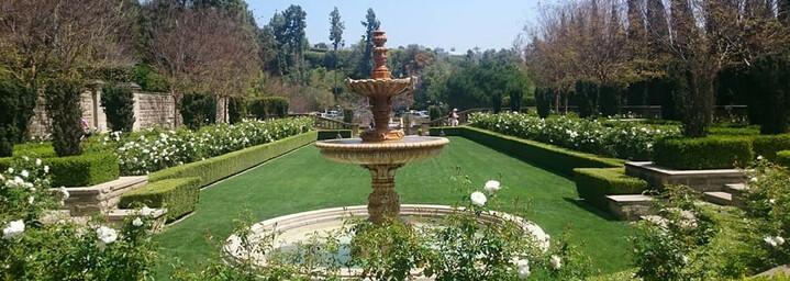Gartenanlage Greystone Mansion