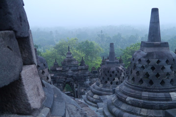 Reisebericht Indonesien: Borobodur auf Java