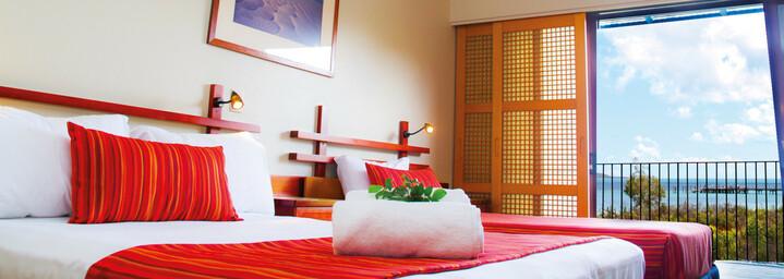 Kingsfisher Bay Resort Zimmerbeispiel Queensland