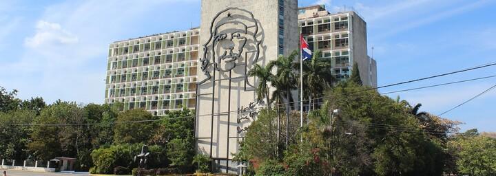 Kuba Gebäude Che Guevara Havanna