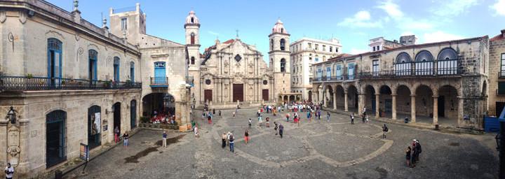 Kuba Reisebericht: Kathedrale in Havanna