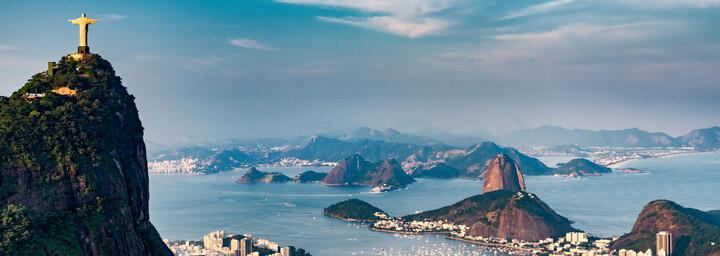 Blick auf Rio den Janeiro
