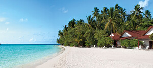 Malediven im Beach Bungalow