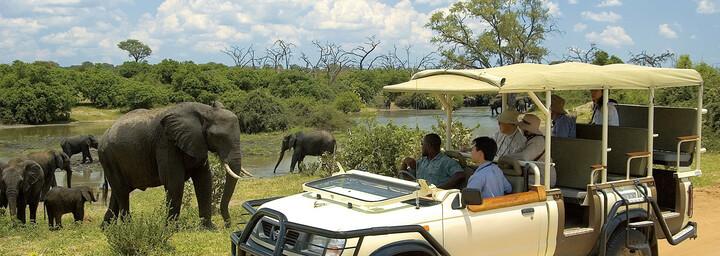 Pirschfahrt Chobe Nationalpark Botswana