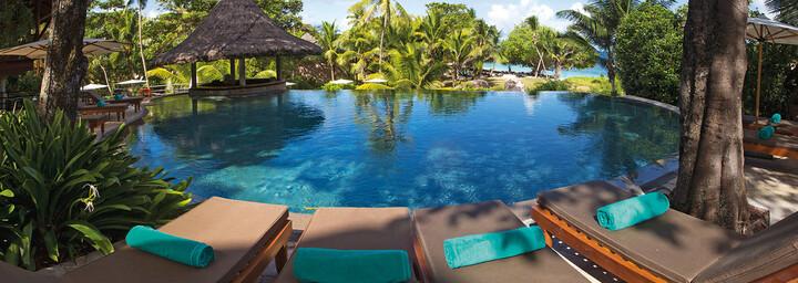 Pool des Constance Lémuria Seychelles