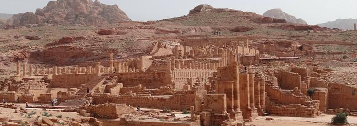 Ruinen in Petra