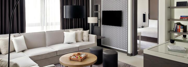 Junior Suite Beispiel des Vida Downtown Dubai