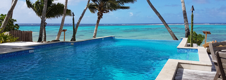 Cook Inseln Reisebericht - Little Polynesien Pool