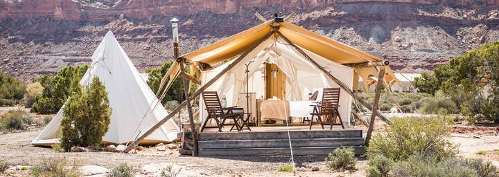 Zelt des Moab Under Canvas©