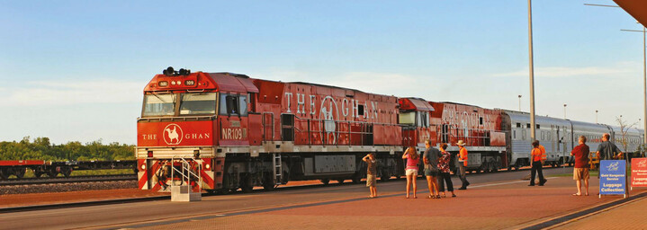 The Ghan in Darwin
