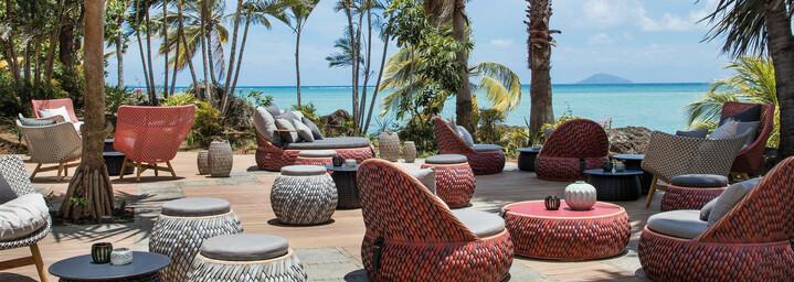 Terrasse - LUX* Grand Gaube Mauritius