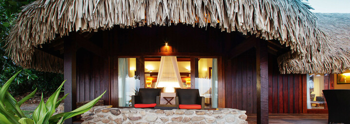 Sofitel Ia Ora Beach Resort Moorea Zimmerbeispiel Außenansicht