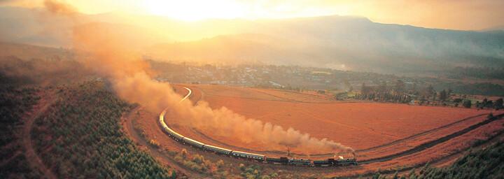 Rovos Rail in der Landschaft