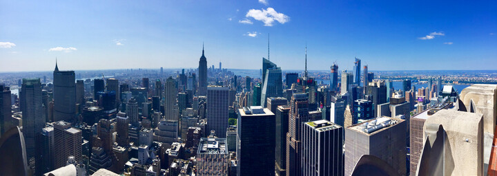 New York City - Aussicht Top of the Rock (Rockefeller Center)