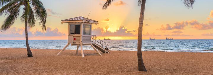 Fort Lauderdale Sonnenuntergang
