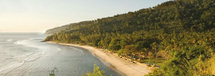 Außenansicht des Jeeva Klui Resort auf Lombok
