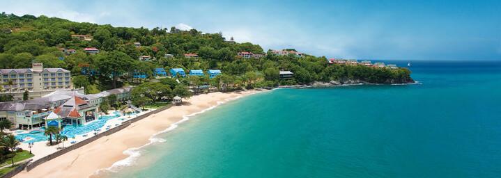 Sandals Regency La Toc Golf Resort & Spa Außenansicht Strandseite