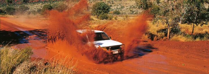Ayers Rock Jeep