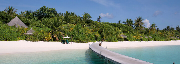 Blick auf das Areal des Coco Palm Dhuni Kolhu