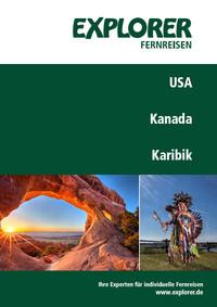 USA Kanada Katalog Cover Explorer Fernreisen