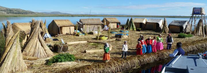 Puno Titicacasee Peru