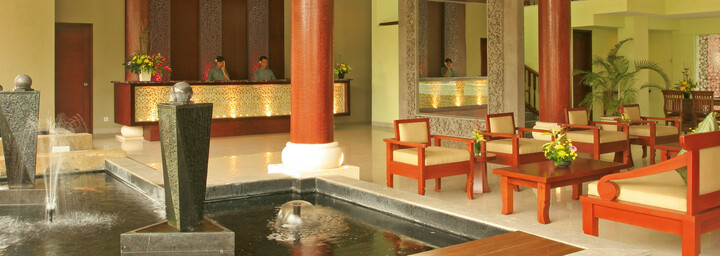Lobby des The Rani Hotel & Spa