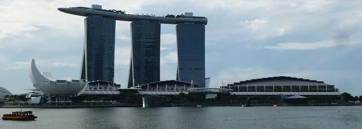 Reisebericht Neuseeland - Stopover in Singapur - Marina Bay Sandy