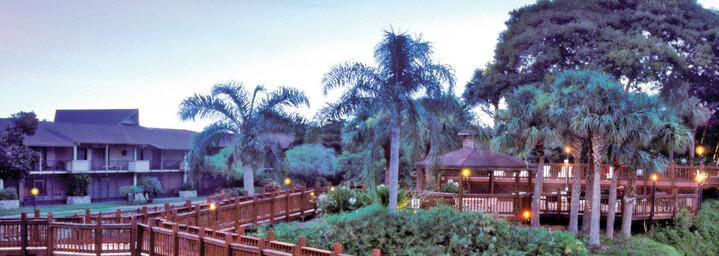 Außenansicht Apartmentanlage Park Shore Resort Naples