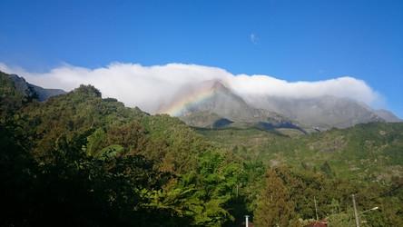 La Réunion Reisebericht: Blick auf die Bergwelt bei Hell-Bourg