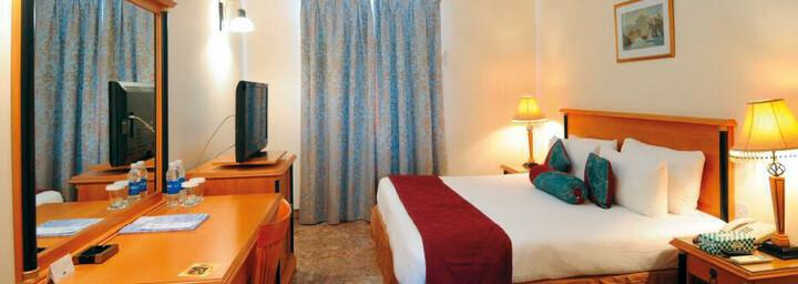Zimmerbeispiel des Falaj Daris Hotel Nizwa