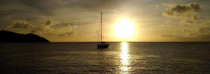 Reisebericht Seychellen - Romantischer Sonnenuntergang