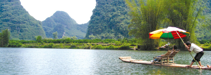 Floßfahrt Li River