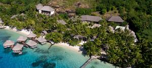 Hotel Le Maitai Polynesia Bora Bora Luftaufnahme