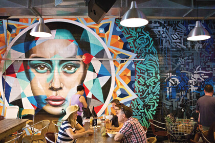 Modernes Café in Adelaide
