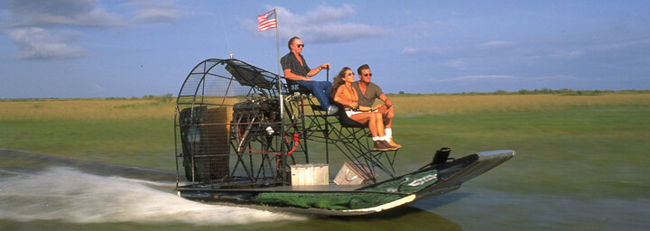 Airboat Everglades Florida