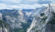Die Gipfel des Yosemite Nationalparks
