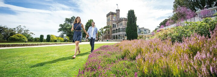 Paar in Dunedin