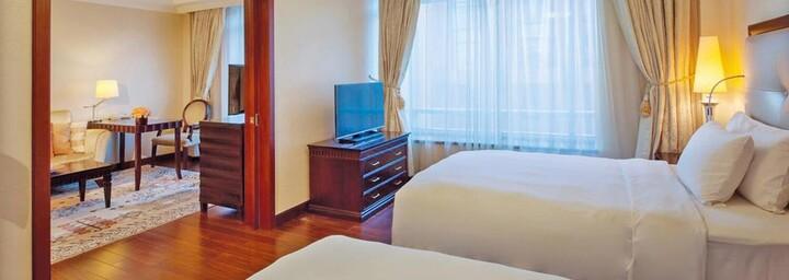 Deluxe-Zimmerbeispiel des Beijing Hotel NUO