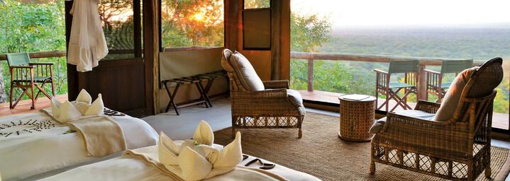 Ghoha Hills Savuti Lodge Zimmerbeispiel