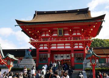 Reisebericht Japan: Fushimi Inari-Taisha Schrein in Kyoto