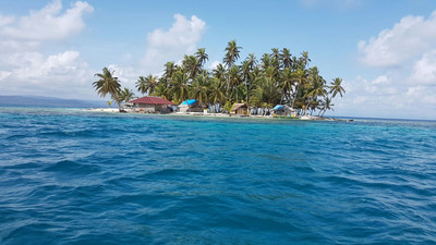 Panama Reisebericht: Private Insel der San Blas Inseln